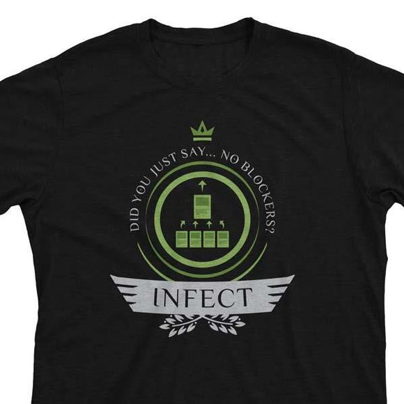 Infect Life V2 - Magic the Gathering Unisex T-Shirt - epicupgrades