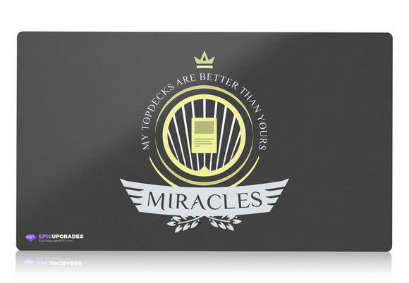 Playmat -  Miracles Life Magic the Gathering - mtg