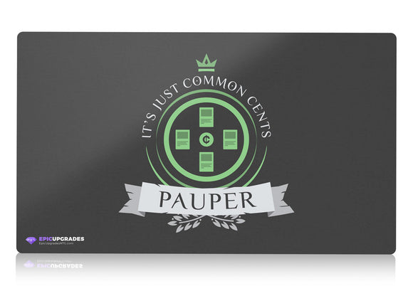 Playmat - Pauper Format Magic the Gathering - epicupgrades