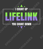 I Count Up You Count Down - Lifelink Magic the Gathering Unisex T-Shirt - epicupgrades