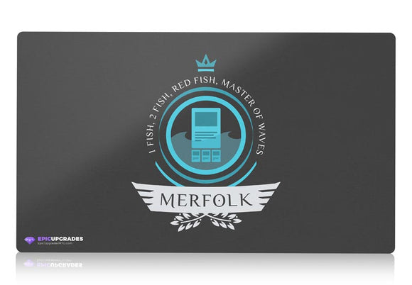 Playmat - Merfolk Life V1 Magic the Gathering - epicupgrades