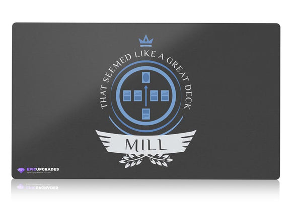 Playmat - Mill Life Magic the Gathering - mtg