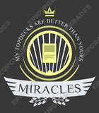 Playmat -  Miracles Life Magic the Gathering