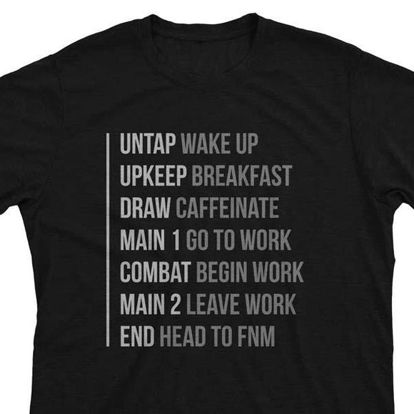 The Phases of Life V2 - Magic the Gathering Unisex T-Shirt