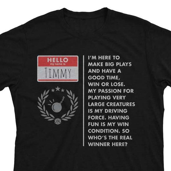 Timmy (Player Type) - Magic the Gathering Unisex T-Shirt