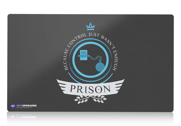 Playmat - Prison Life V1 Magic the Gathering - mtg
