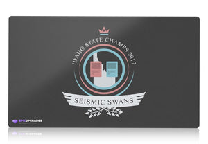 Playmat - Seismic Swans Life Magic the Gathering - mtg