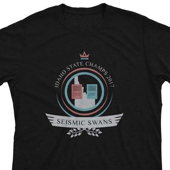 Seismic Swans Life - Magic the Gathering Unisex T-Shirt - epicupgrades