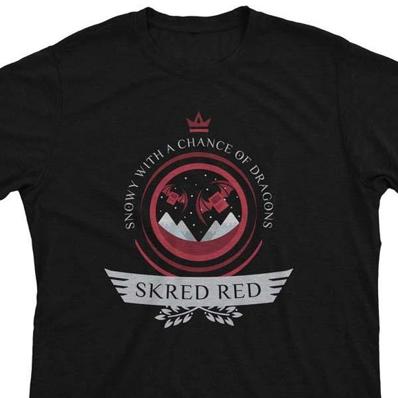 Skred Red Life V2 - Magic the Gathering Unisex T-Shirt - epicupgrades