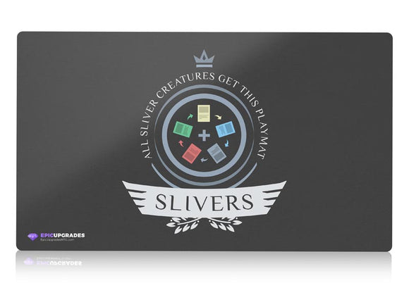 Playmat -  Slivers Life Magic the Gathering - epicupgrades