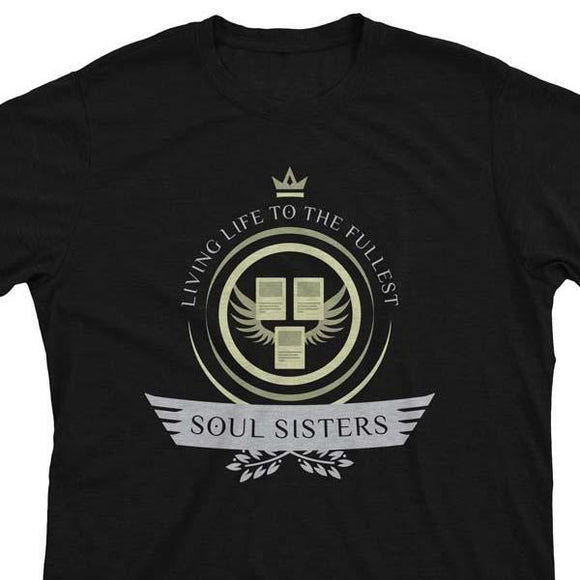 Soul Sisters Life V2 - Magic the Gathering Unisex T-Shirt - epicupgrades