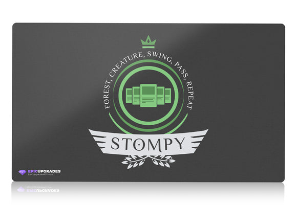 Playmat - Stompy Life Magic the Gathering - epicupgrades