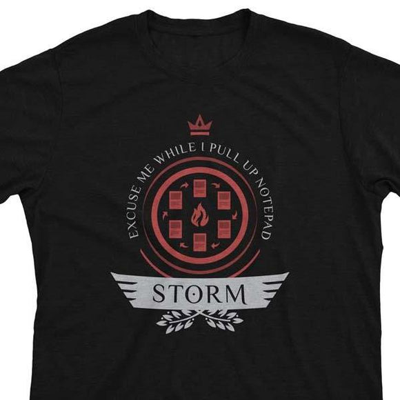 Storm Life V1 - Magic the Gathering Unisex T-Shirt - epicupgrades