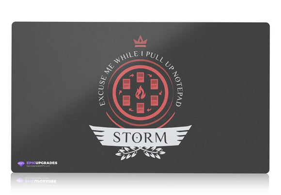 Playmat - Storm Life V1 Magic the Gathering - epicupgrades