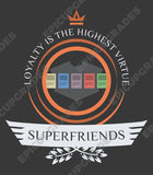 Playmat - Superfriends Life Magic the Gathering - epicupgrades