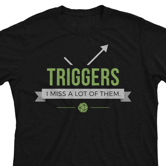 Triggers - Magic the Gathering Unisex T-Shirt - mtg
