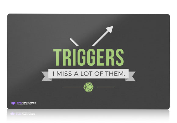 Playmat - Triggers Magic the Gathering - mtg