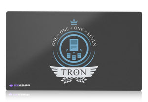 Playmat - Tron Life (Blue) Magic the Gathering - mtg