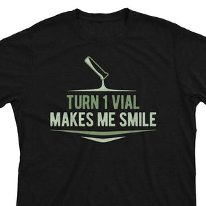 Turn 1 Vial Makes Me Smile - Magic the Gathering Unisex T-Shirt - epicupgrades