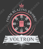 Playmat - Voltron Life Magic the Gathering