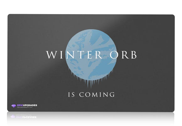 Playmat - Winter Orb Magic the Gathering - epicupgrades