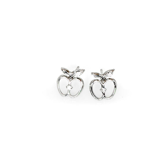 Apple Shape Studs
