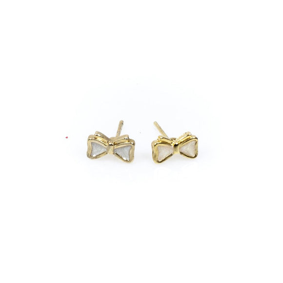 Ribbon Stud Earrings