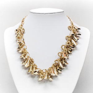 Horn Cluster Necklace