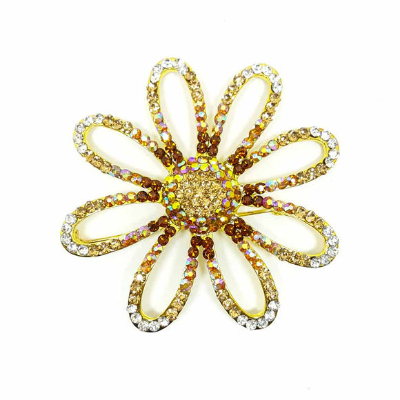 Flower Shape Brooch