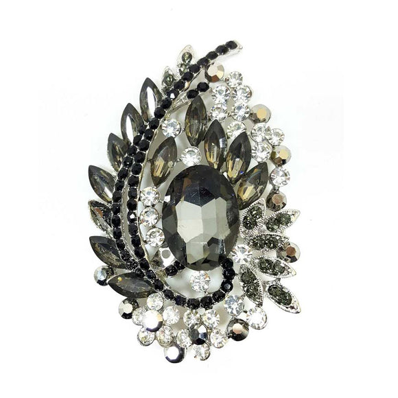 Oval Shape Brooch