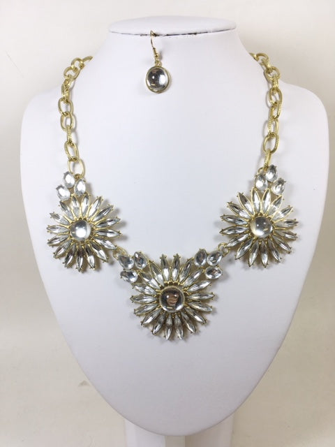 Clear Color Necklace