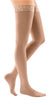 mediven comfort, 20-30 mmHg, Thigh High with Lace Top-Band, Closed Toe