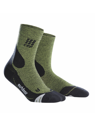 Men's Outdoor Merino Mid-Cut Socks