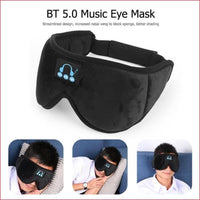Bluetooth 5.0 Wireless Earphone 3D Sleep Mask .