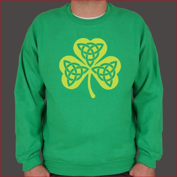 Celtic Shamrock Sweater (Mens)