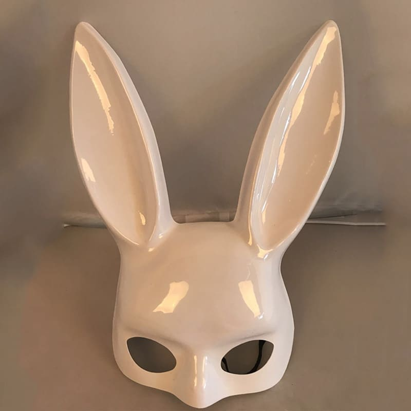 1Pc Halloween ladies Bunny PartyNightclub mask.