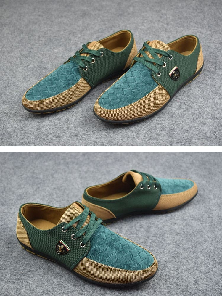 Mens Spring Autumn Casual Fashion canvas shoes.