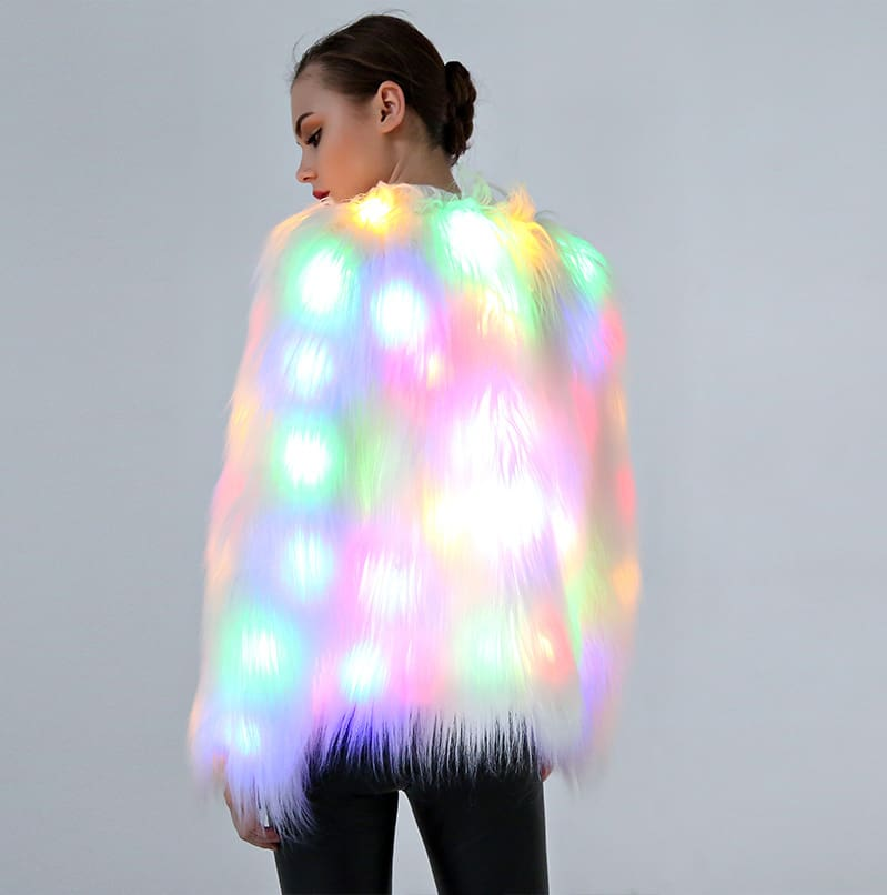 Women Christmas Halloween Party Lighted fashion jacket.