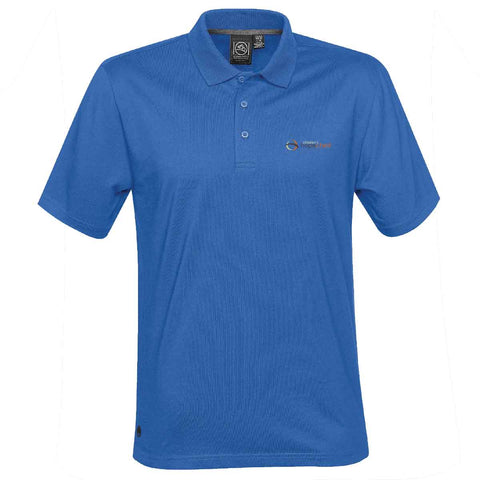Children's HopeChest - Adult Liquid Cotton Polo CTP-1 - Azure Blue
