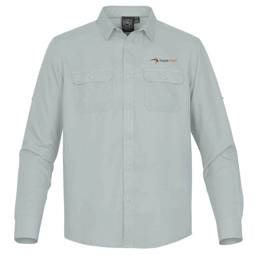 Childrens Hopechest - Mens Embroidered Long Sleeve Safari Apparel