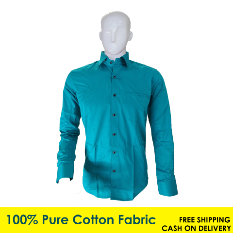 Men's Casual Wear Plain Shirt