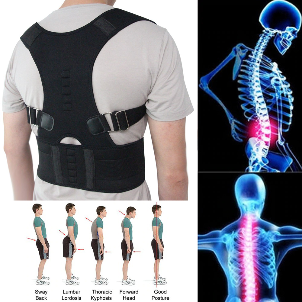 Magnetic Back Pain Reliever Posture Support Belt