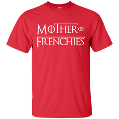 Mother of Frenchies T-Shirt - Women's Tees I Love Frenchie Bulldogs