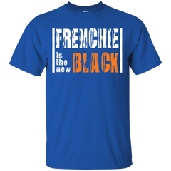 Frenchie is the New Black T-Shirt - Men's T-Shirts I Love Frenchie Bulldogs