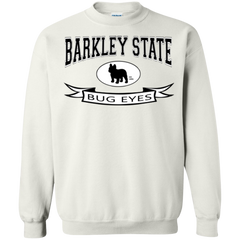 Barkley State Bug Eyes Crewneck Pullover Sweatshirt - Men's Sweatshirts I Love Frenchie Bulldogs