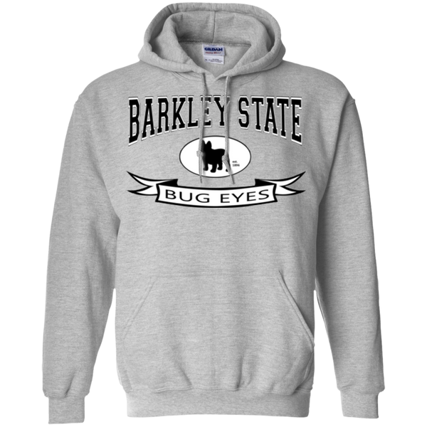 Barkley State Bug Eyes Pullover Hoodie - Men's Sweatshirts I Love Frenchie Bulldogs