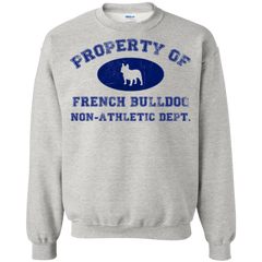 French Bulldog Non-Athletic Dept. Crewneck Pullover Sweatshirt - Men's Sweatshirts I Love Frenchie Bulldogs