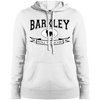 Barkley Roll Frenchie Womens Pullover Hoodie - Women's Sweatshirts I Love Frenchie Bulldogs