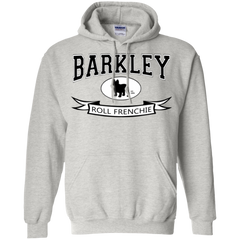 Barkley Roll Frenchie Pullover Hoodie - Men's Sweatshirts I Love Frenchie Bulldogs