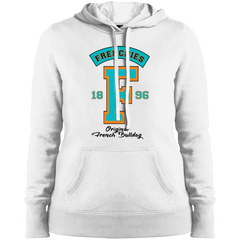 Frenchies Est 1896 Womens Pullover Hoodie - Women's Sweatshirts I Love Frenchie Bulldogs